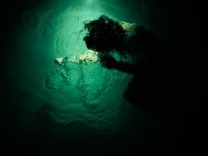 Sin título #1 (2006), C-Print 36 x 48 in. Reflejos del subconsciente (2006) - Exhibición fotográfica por Tristán Reyes